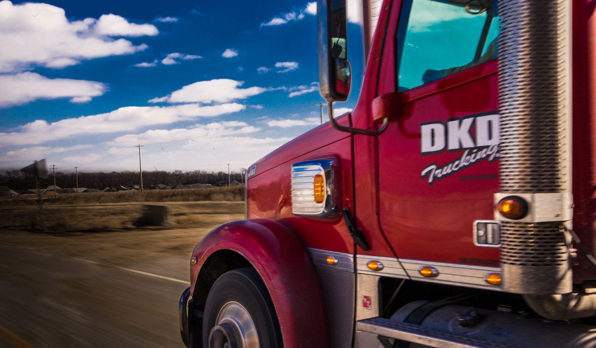 DKD semi-truck